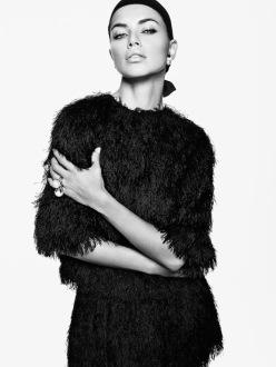 Adriana Lima by Tom Munro for Vogue Japan April 2014