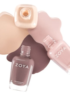 Zoya Naturel Nail Lacquers Collection