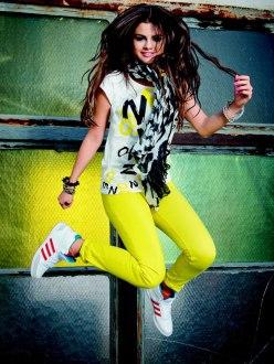 Selena Gomez for Adidas Neo Collection