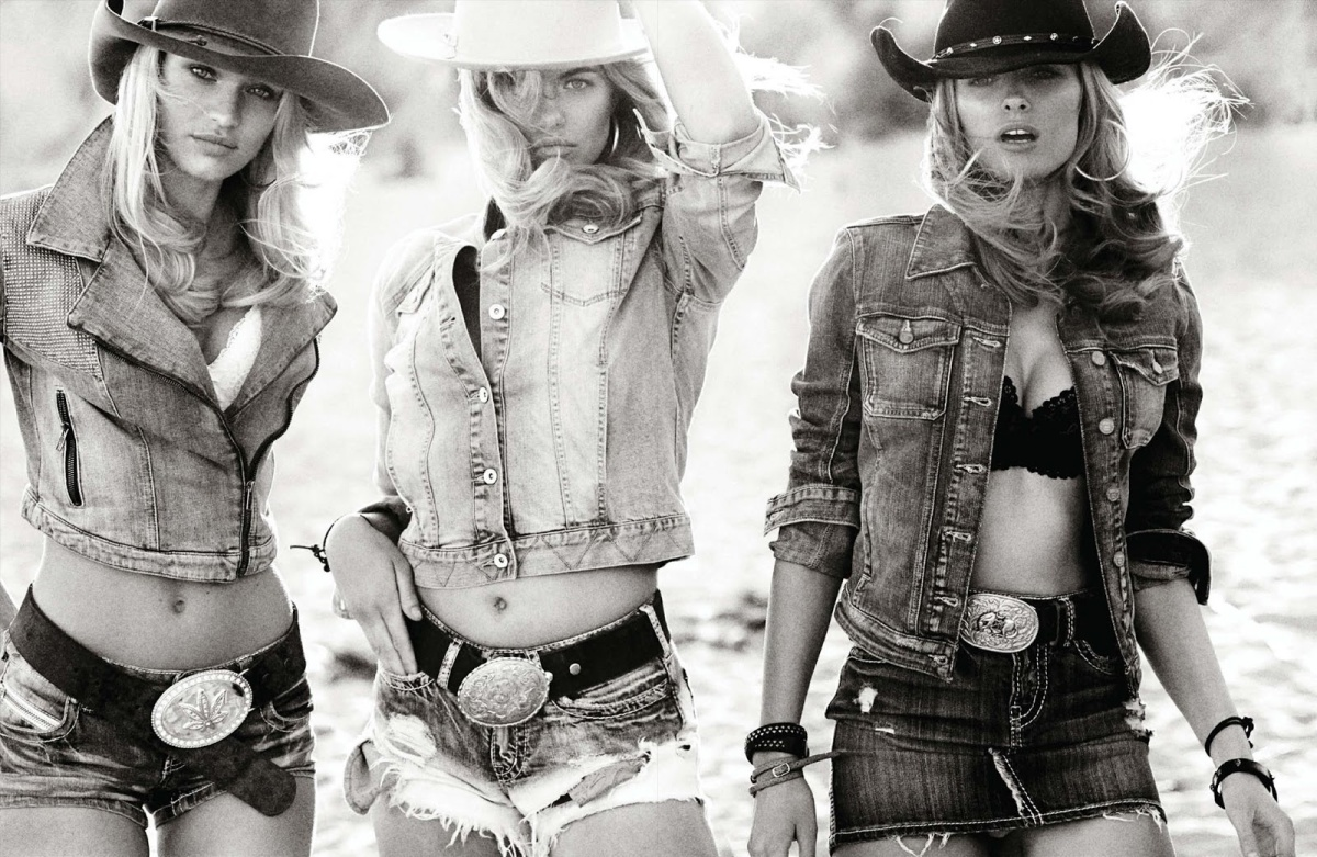 Hailey Clauson, Edita Vilkeviciute and Candice Swanepoel for Vogue Germany March 2014