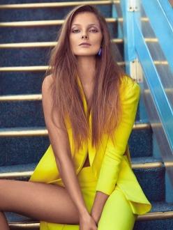 Eniko Mihalik by Koray Birand for Vogue Mexico March 2014