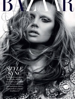 Holly Rose Emery for Harper's Bazaar Australia March 2014 - Hearts Racing