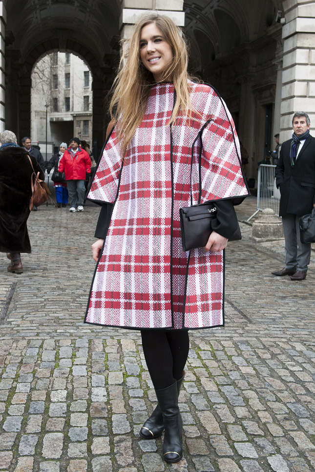 Street Style at London A/W 2014.15 Fashion Week