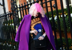 Street Style at London A/W 2014-2015 Fashion Week (part 2)