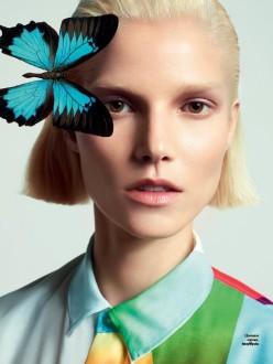 Suvi Koponen by Cuneyt Akeroglu for Vogue Ukraine March 2014