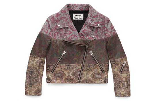Mape leather jacket, Acne Studios x Liberty London