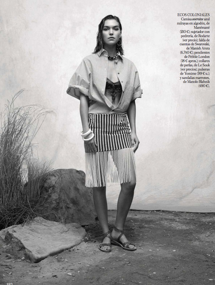 Arizona Muse for Vogue Spain March 2014