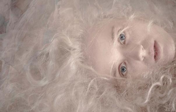 Esmeralda Seay-Reynolds for Vogue Germany March 2014