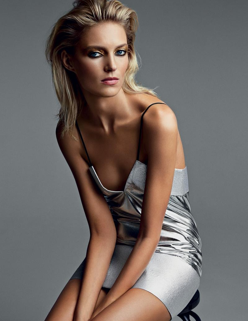 Anja Rubik for Vogue Russia March 2014 - Gleam In The Eyes