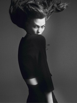 Karlie Kloss by David Sims for Vogue Paris March 2014 - Affranchie