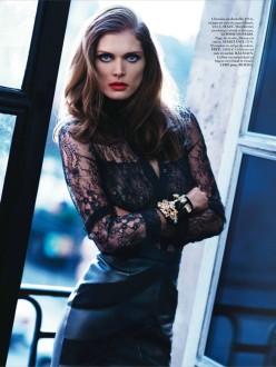 Malgosia Bela by Katja Rahlwes for Vogue Paris March 2014 - Belle De Soir