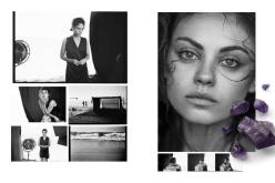Mila Kunis for Gemfields' 2014 Advertising Campaing