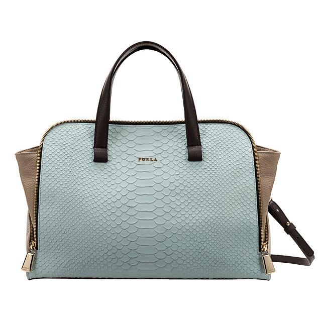 FURLA bag with short handles and shoulder strap