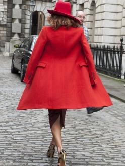 Street Style at London A/W 2014.15 Fashion Week