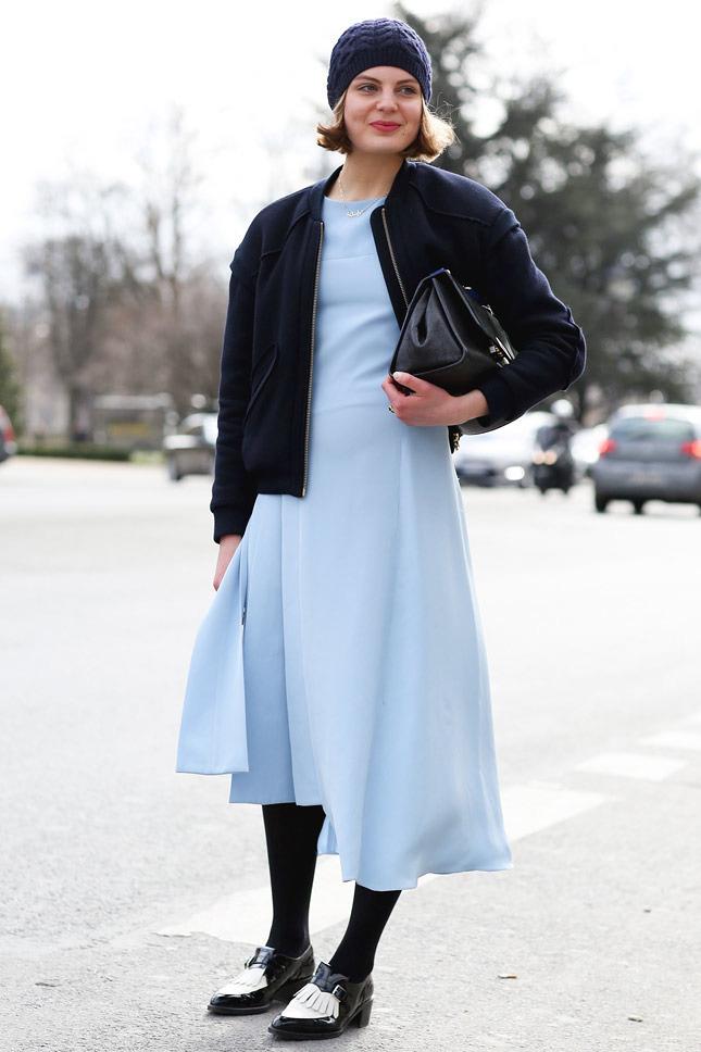Street Style at Paris Fashion Week A/W 2014