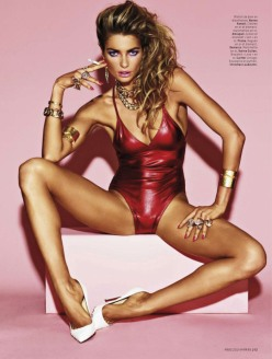 Jessica Hart for L'Officiel Paris March 2014 - Heart Attack