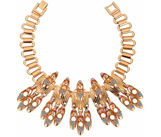 Necklace with crystals from the Metropolis collection - MAWI