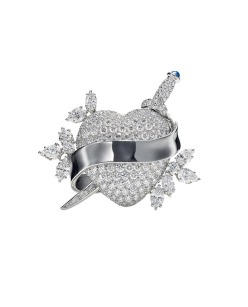 Brooch Tattoo, HARRY WINSTON - white gold