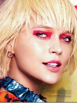 Liza Kei by Federico de Angelis for Tatler Russia March 2014