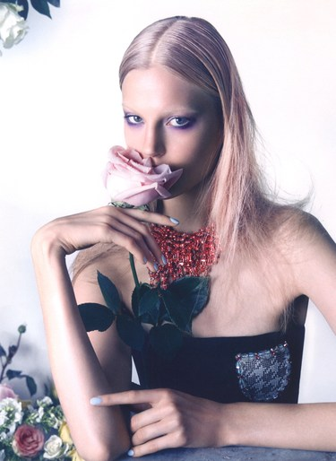 Elisabeth Erm by Camilla Akrans for Dior Magazine No.5