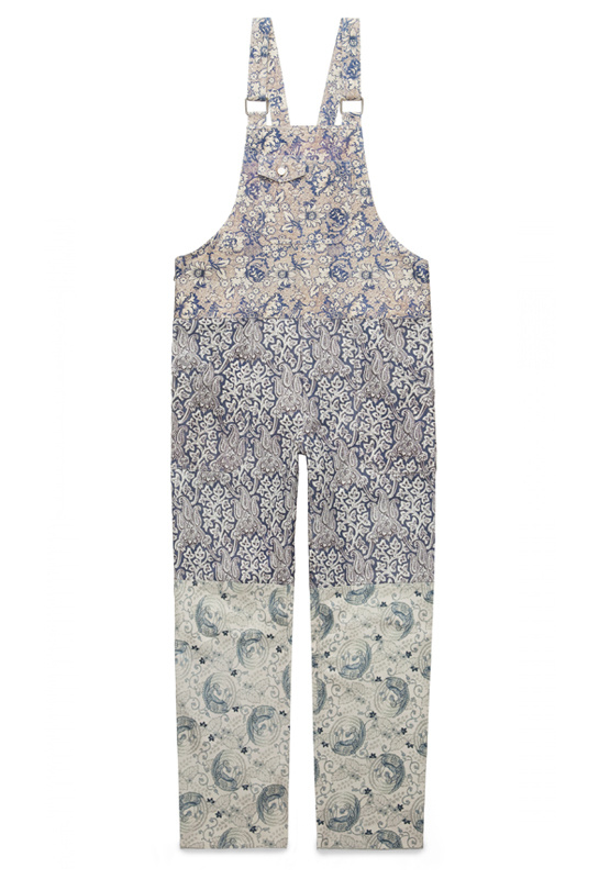 Chagall overalls, Acne Studios x Liberty London