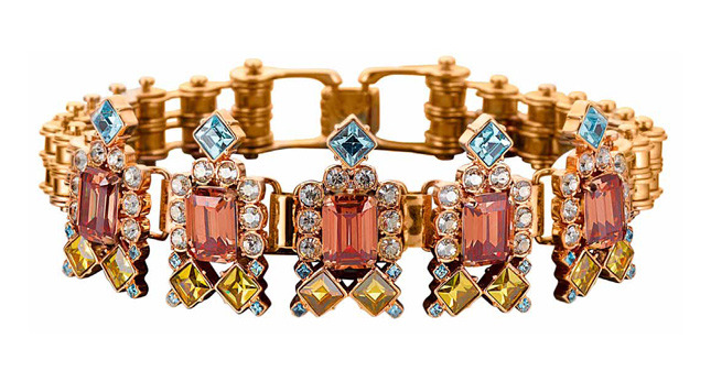 Bracelet with crystals from Barbarella collection - MAWI