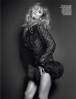 Natasha Poly by Mario Sorrenti for Vogue Paris March 2014