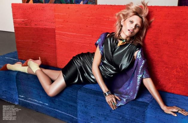Hana Jirickova for Cover Magazine February 2014