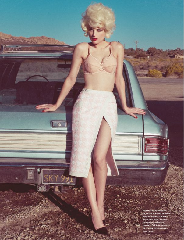 Guinevere van Seenus for Numéro #151 March 2014