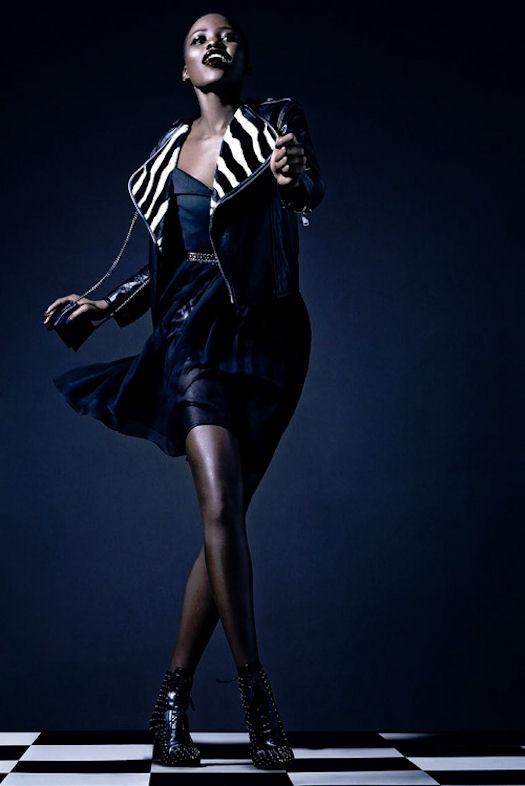 Lupita Nyong'o by Tom Munro for Vogue Italia February 2014