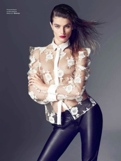 Isabeli Fontana for Vogue Ukraine February 2014