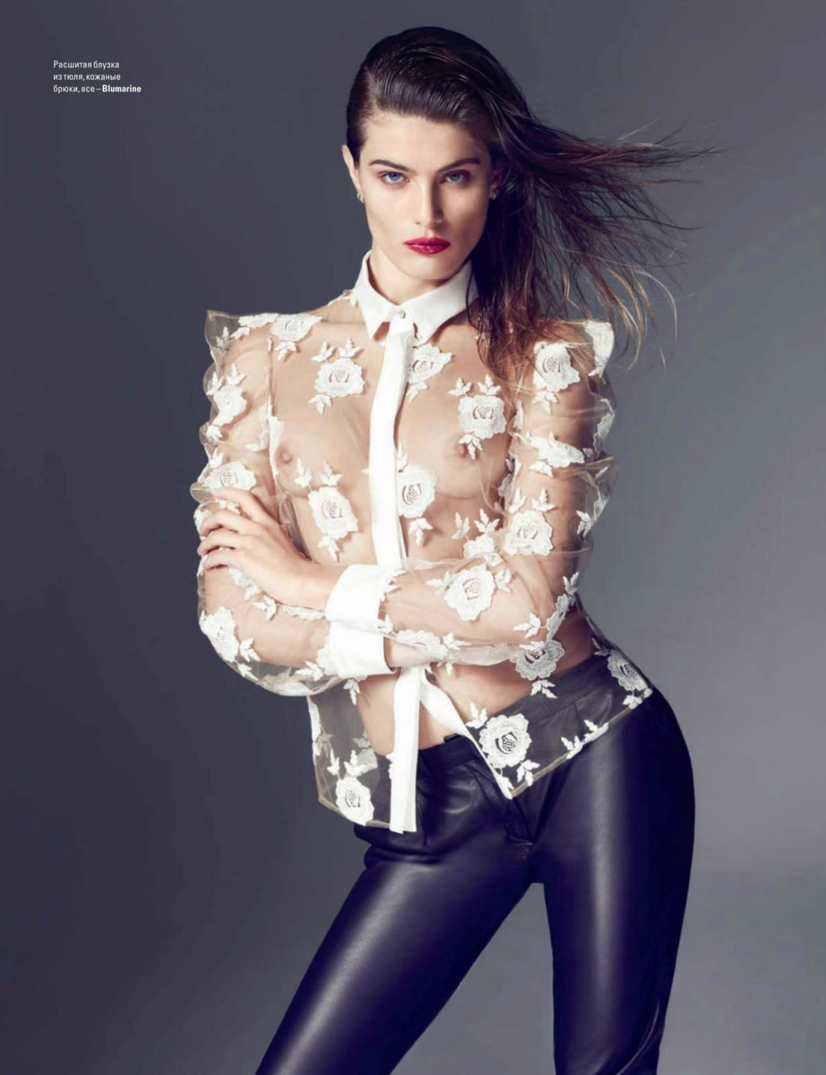 Isabeli Fontana for Vogue Ukraine February 2014
