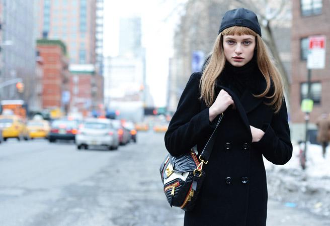 Street Looks At New York Autumn/Winter 2014.25 Fashion Shows