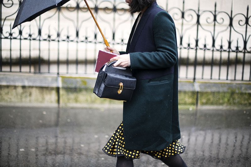 Street Style at Paris Fashion Week A/W 2014