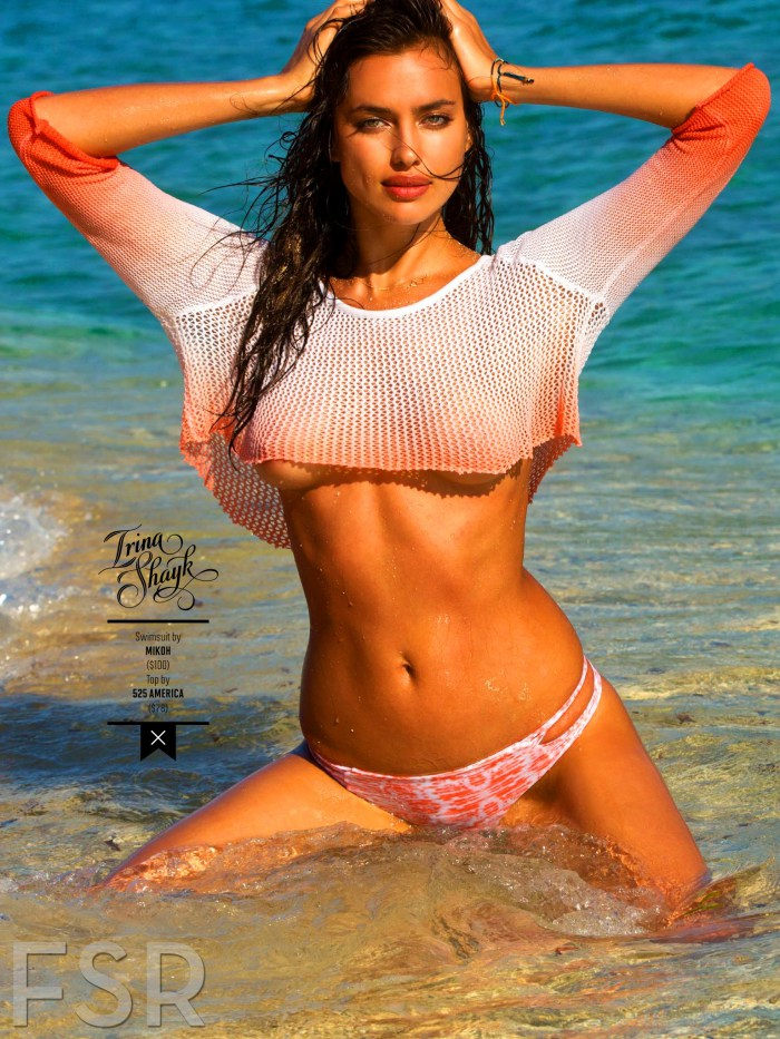Irina Shayk for Sports Illustrated Swimsuit 2014 | A Stairway To Fashion