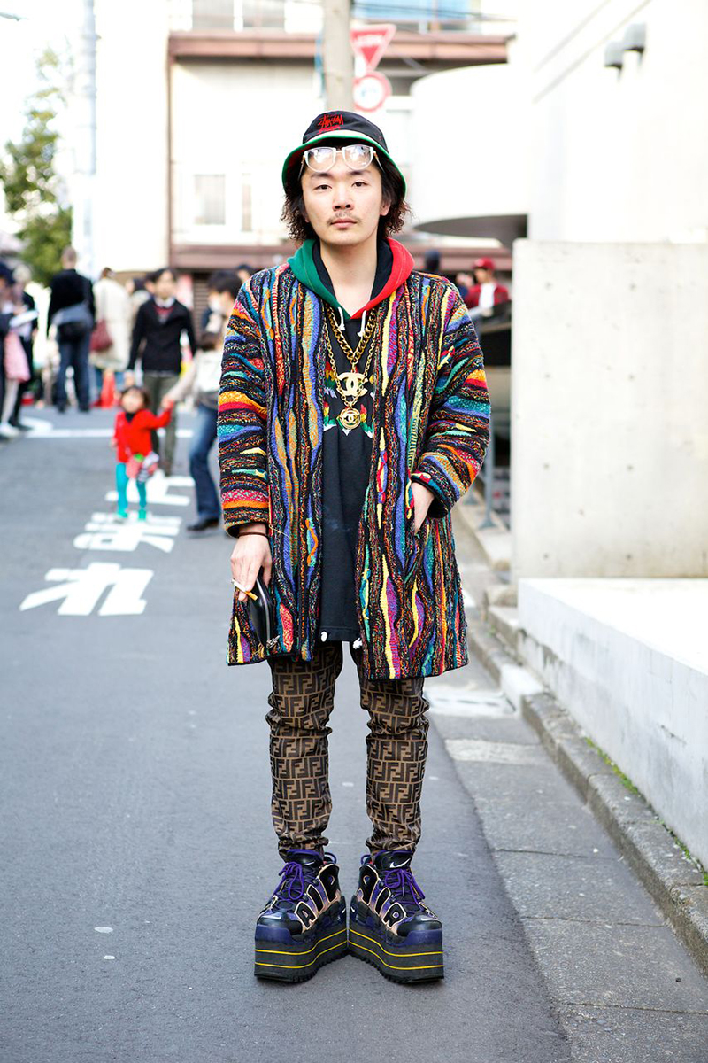 Street style at tokyo fashion week a stairway to fashion Yes style japanese fashion