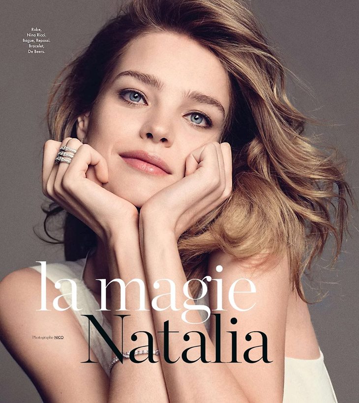 Natalia Vodianova Tumblr Natalia Vodianova by Nico For