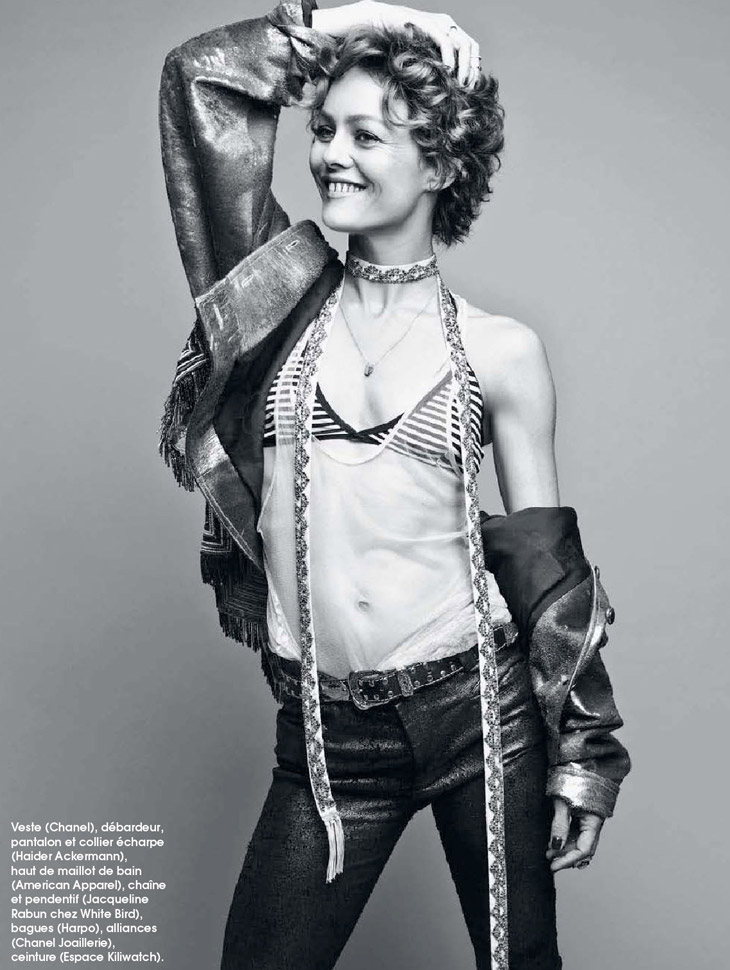 Vanessa Paradis by Dancian for Marie Claire France May 2014 | A ... Vanessa Paradis