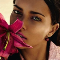 Adriana Lima by Miguel Reveriego for Vogue Spain May 2014