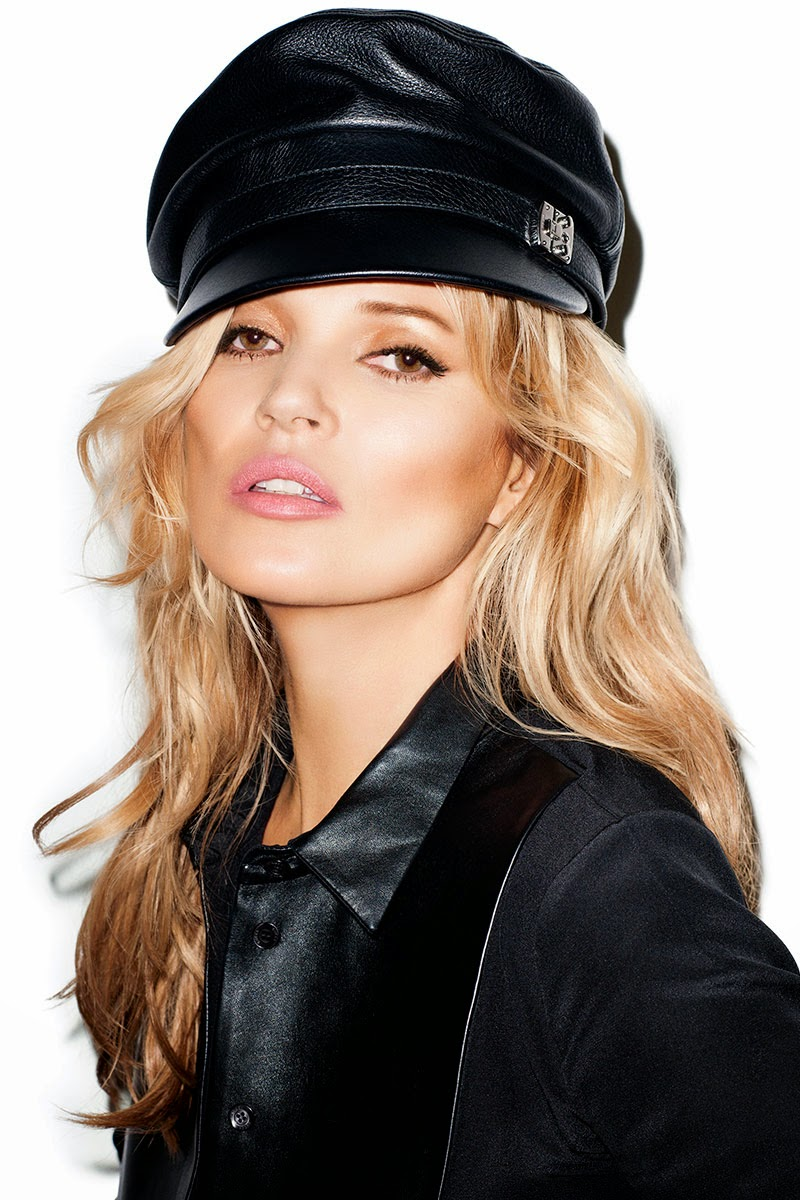 Kate Moss Is The Queen Of Cool On 37th Vogue Uk Cover: Kate Moss By Terry Richardson For Harper's Bazaar US May