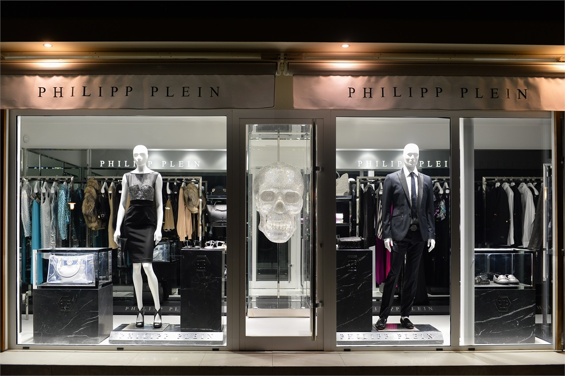 philipp plein opened up a temporary store in ibiza a stairway to fashion. Black Bedroom Furniture Sets. Home Design Ideas