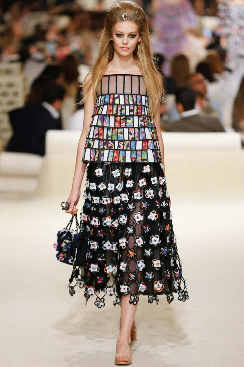 Chanel's Middle East Cruise 2014/2015 Collection At Dubai
