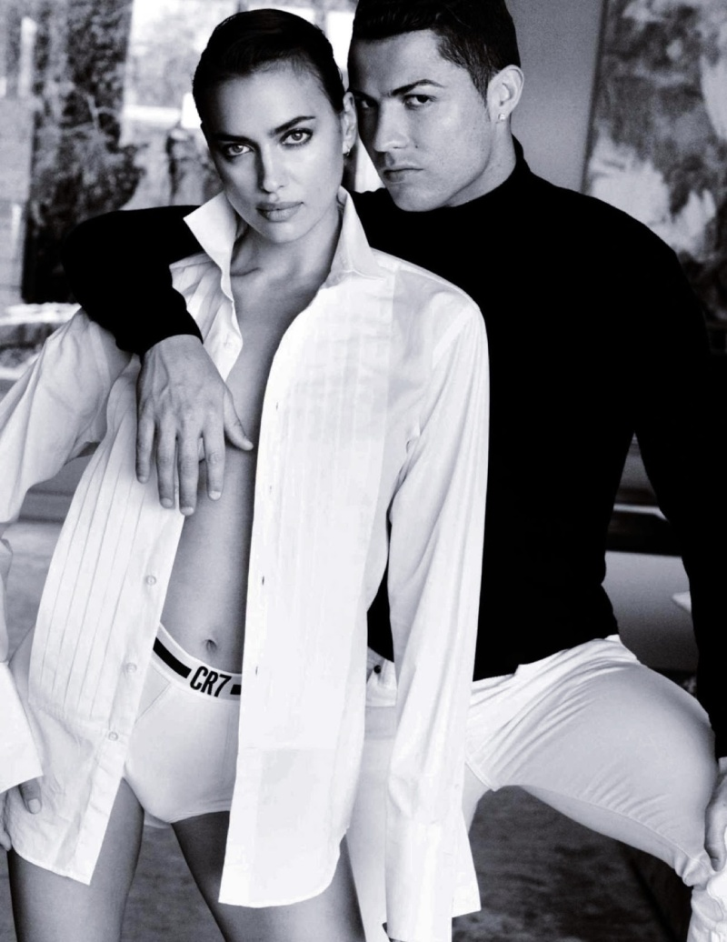 Cristiano Ronaldo and Irina Shayk by Mario Testino for Vogue Spain June 2014