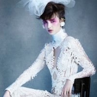 Waleska Gorczevski by Victor Demarchelier for Vogue Japan Wedding June 2014