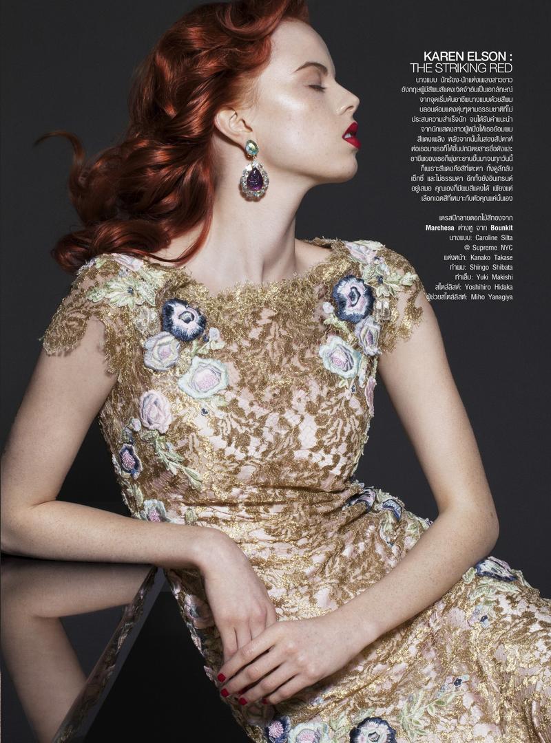 Hair Influencial - by Natth Jaturapahu for Harper's Bazaar Thailand June 2014 Issue