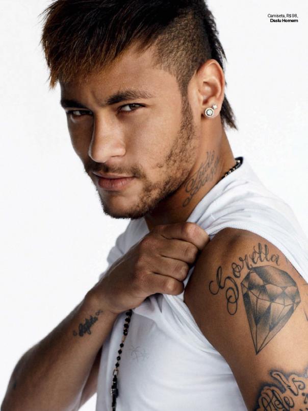 Neymar Da Silva Tattoos The Dream Team – Gis...