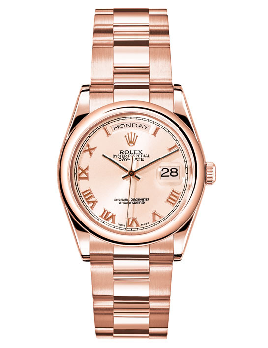Rolex womens watches rose gold