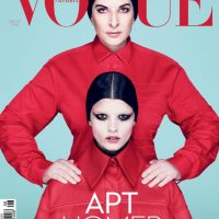 Marina Abramovic & Crystal Renn for Vogue Ukraine August 2014
