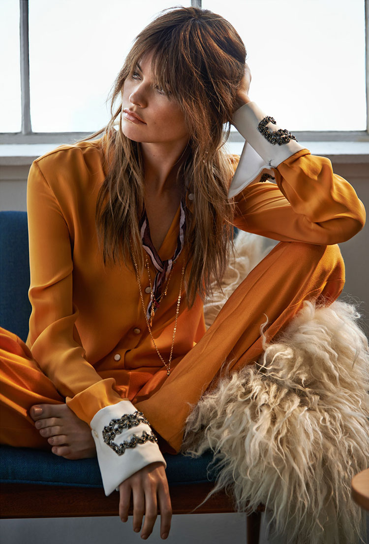 Behati Prinsloo By Chris Colls For The Edit July 2014 A Stairway To Fashion