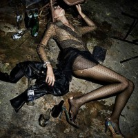 Pretty Wasted - by Fabien Baron for Interview Magazine October 2014 Issue
